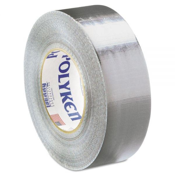 "Polyken Duct Tape, 2"" x 60yds, 9 1/2mil, Silver"