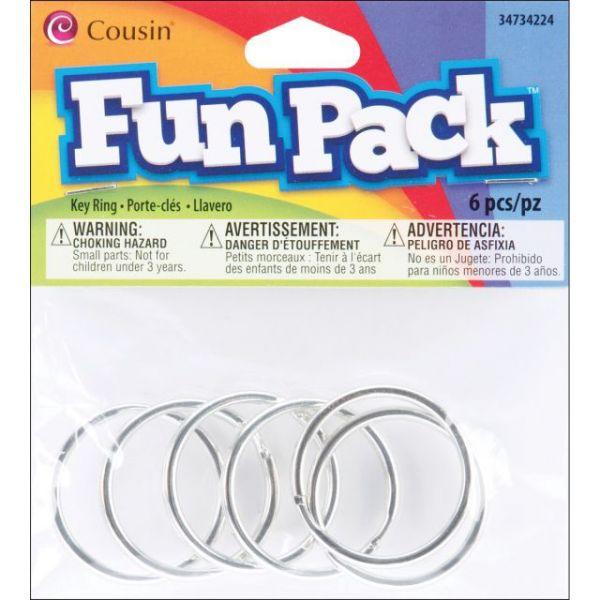 Fun Pack Key Rings