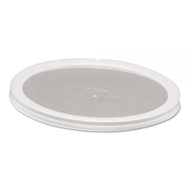 WNA Over-Cap-Style Deli Container Lids, Clear, 50/Pack, 10 Pack/Carton