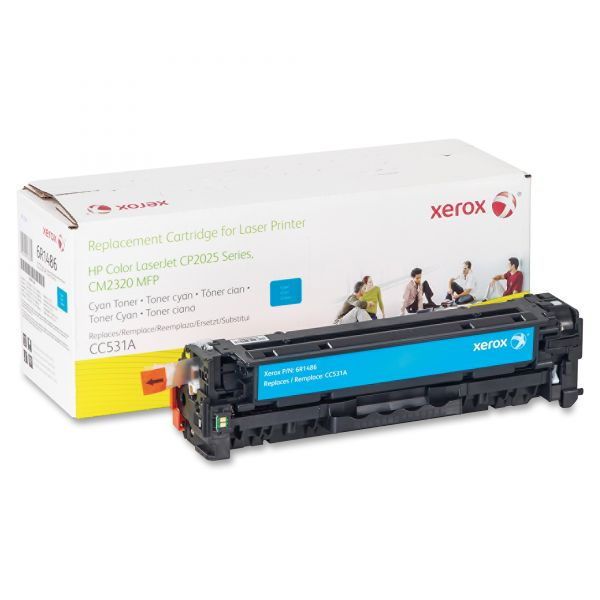 Xerox Remanufactured CC531A Cyan Toner Cartridge