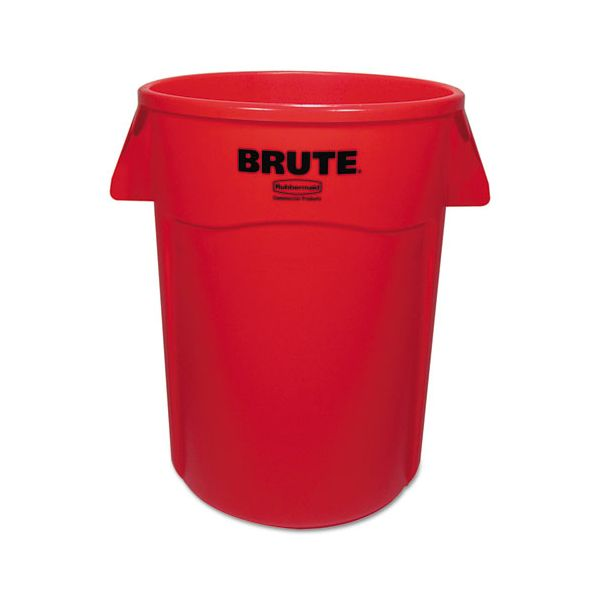 Rubbermaid Commercial Brute Vented 44 Gallon Trash Cans