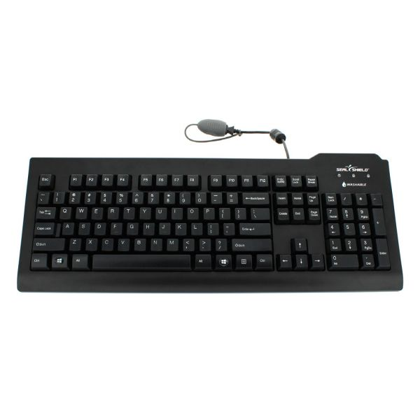 Seal Shield Silver Seal Waterproof Keyboard - SSKSV208ES