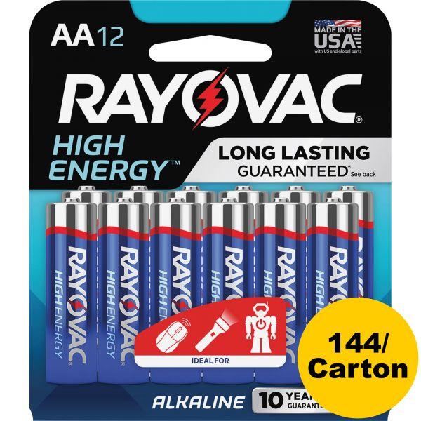 Rayovac Alkaline AA Batteries