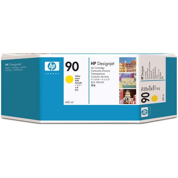 HP 90 Yellow Ink Cartridge (C5065A)