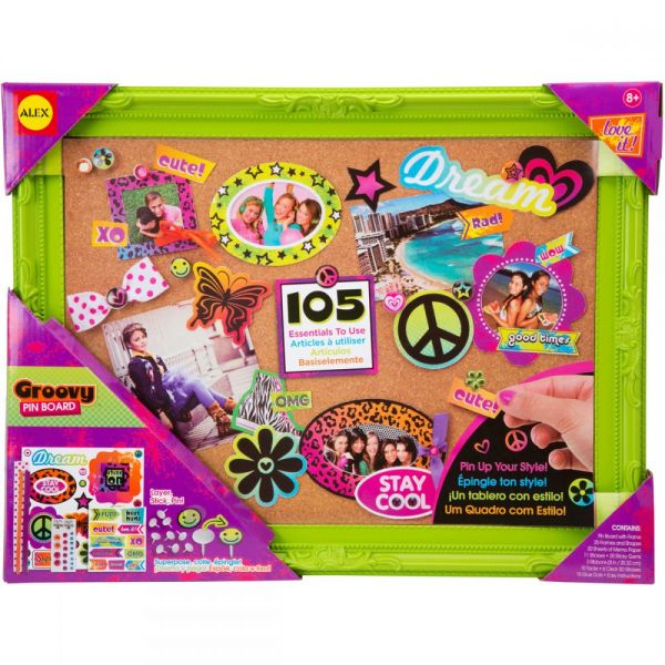 ALEX Toys Groovy Pin Board Kit