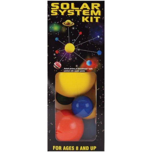 Styrofoam Solar System Kit