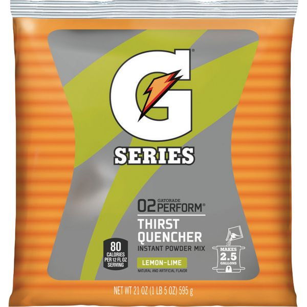 Gatorade Yellow Thirst Quencher Mix Pouch