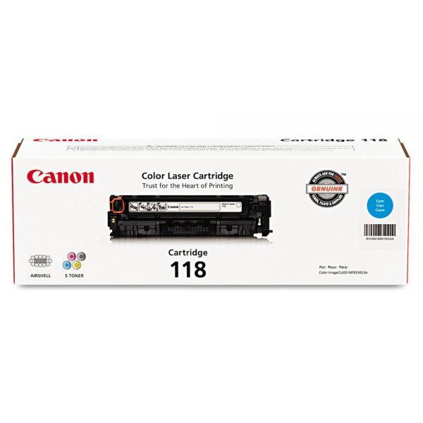 Canon 118 Cyan Toner Cartridge (2661B001)