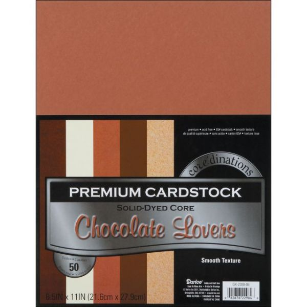 Core'dinations Premium Smooth Chocolate Lovers Cardstock