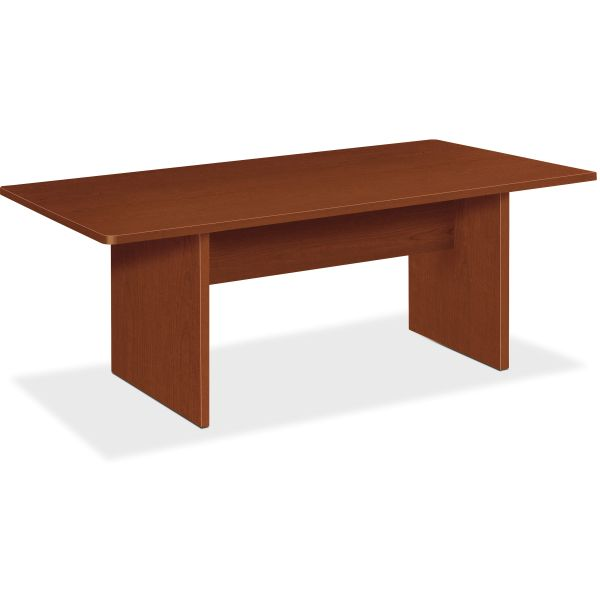 basyx BL Laminate Series Rectangular Conference Table, 72w x 36d x 29 1/2h, Med Cherry