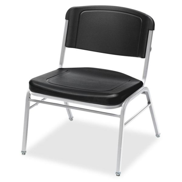 Iceberg Rough N Ready Series Big & Tall Plastic Stacking Chairs