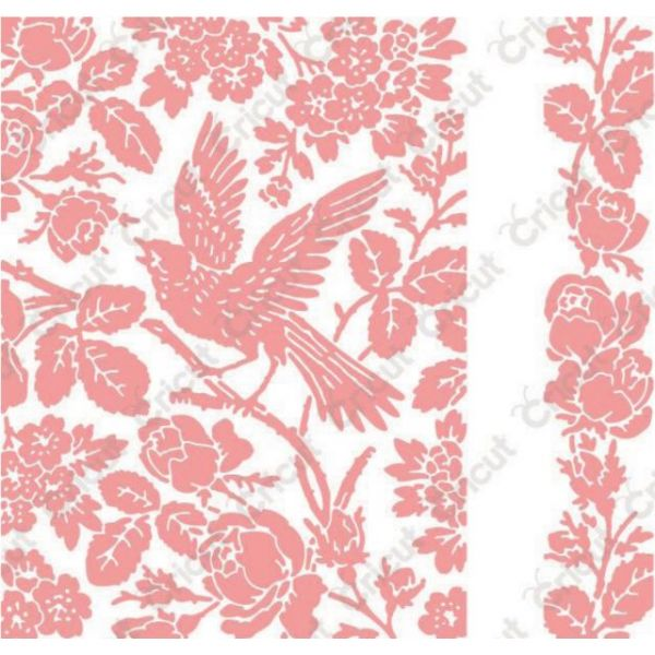 Cuttlebug A2 Embossing Folder/Border Set
