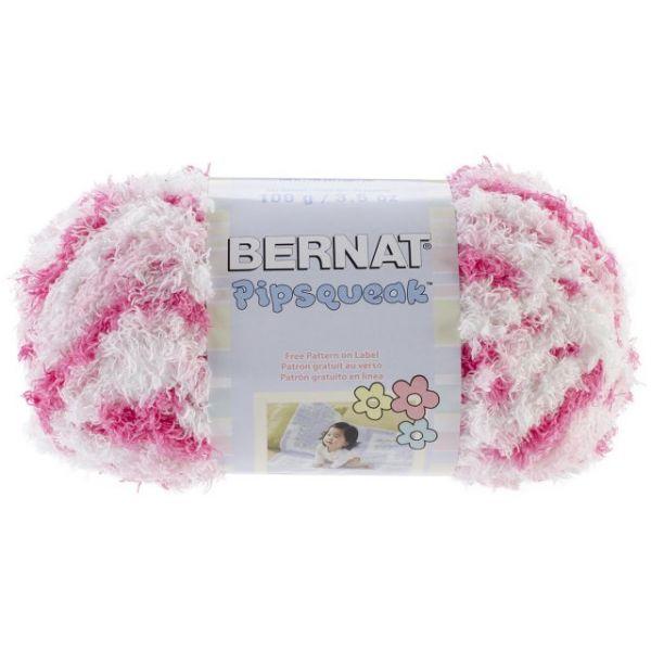 Bernat Pipsqueak Yarn - Pink Swirl