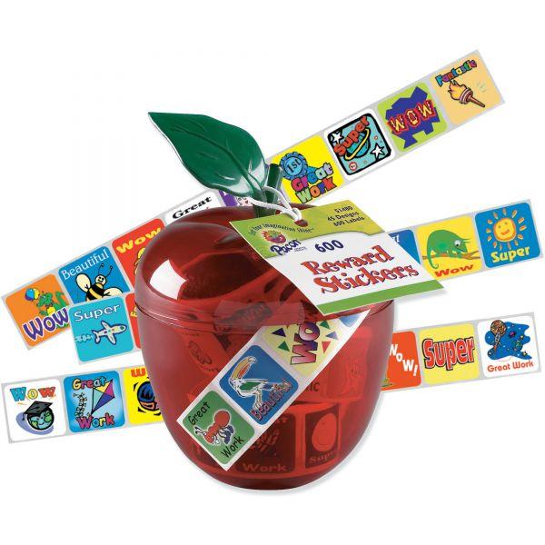 Pacon Plastic Apple & Stickers
