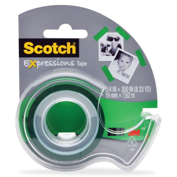 Scotch Expressions Transparent Tape