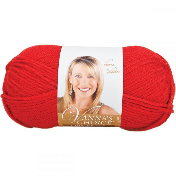 Lion Brand Vanna's Choice Yarn - Scarlet