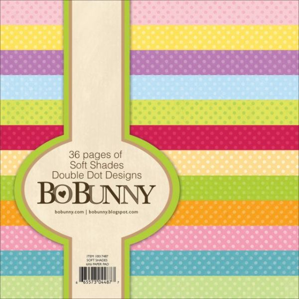 BoBunny Double Dot Soft Shades Paper Pad