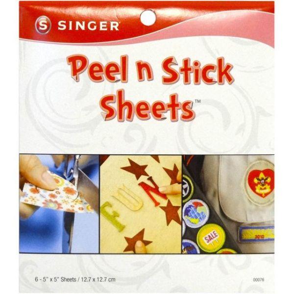 "Peel N Stick Sheets 5""X5"" 6/Pkg"