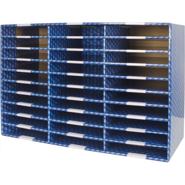 Storex Corrugated mailroom sorter