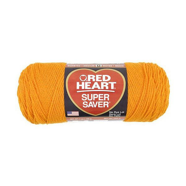 Red Heart Super Saver Yarn - Pumpkin