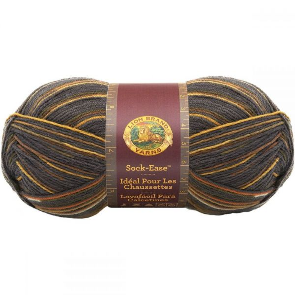Lion Brand Sock-Ease Yarn - Toffee