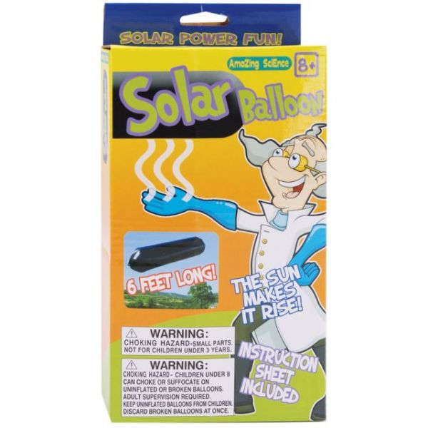 Amazing Science Solar Balloons Kit