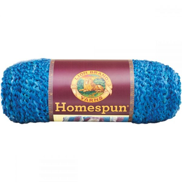 Lion Brand Homespun Yarn - Montana Sky