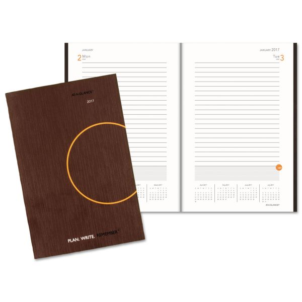 At-A-Glance Daily Planning Notebook