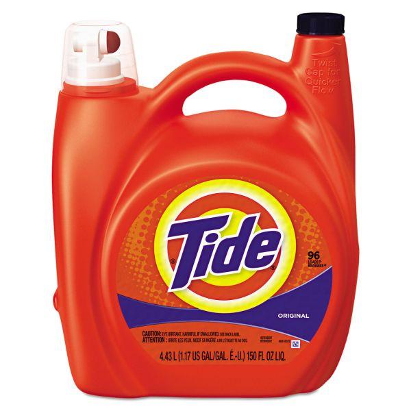 Tide Liquid Laundry Detergent with Pump Dispenser