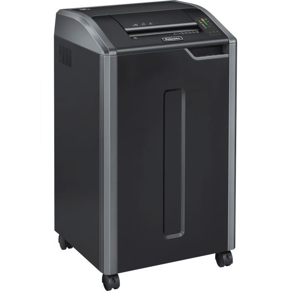 Fellowes Powershred 425i 100% Jam Proof Continuous-Duty Strip-Cut Shredder, TAA Compliant