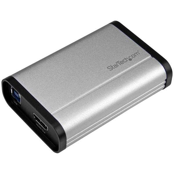 StarTech.com USB 3.0 Capture Device for High-Performance HDMI Video - 1080p 60fps - Aluminum