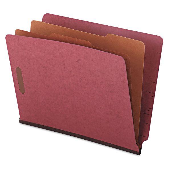 Universal End Tab Pressboard Classification Folders