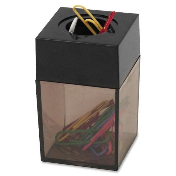 Sparco Magnetic Paper Clip Dispenser