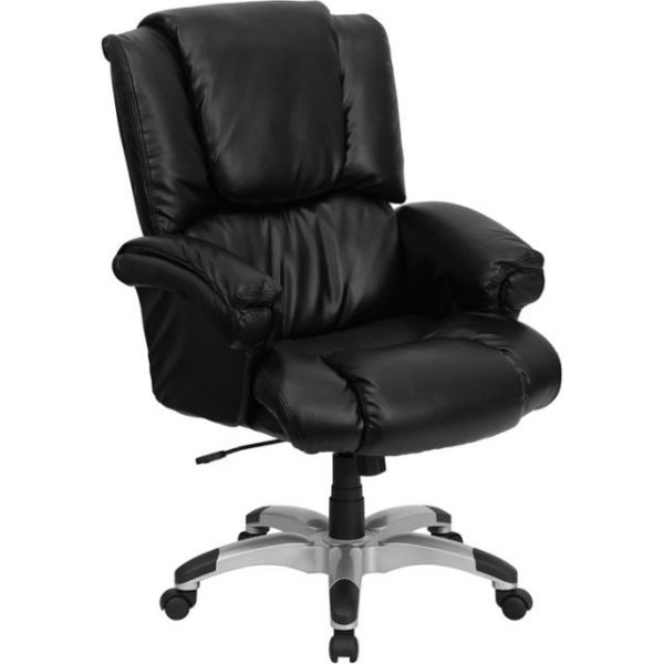 Flash Furniture High Back OverStuffed Executive Office Chair [GO-958-BK-GG]