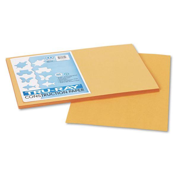 Tru-Ray Sulphite Tan Construction Paper