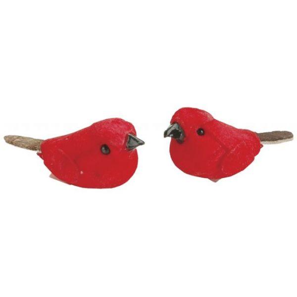 """Mushroom Birds 1"""" 2/Pkg"""