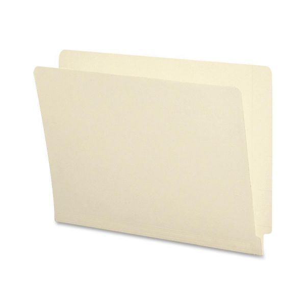 Smead Letter Size End Tab File Folders with Antimicrobial Product Protection & Reinforced Tabs