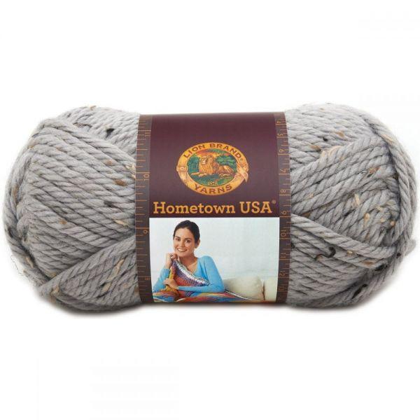 Lion Brand Hometown USA Yarn - Cape Cod Tweed