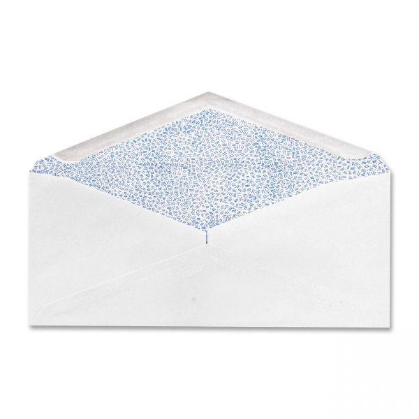 White Wove Security Tinted Envelopes