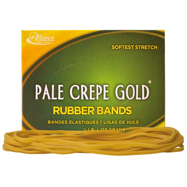 Pale Crepe Gold #117B Rubber Bands