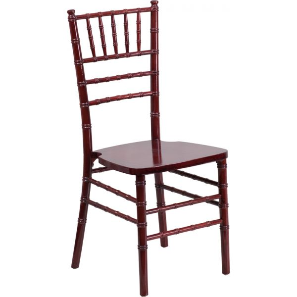 Flash Furniture Mahogany Wood Chiavari Chair
