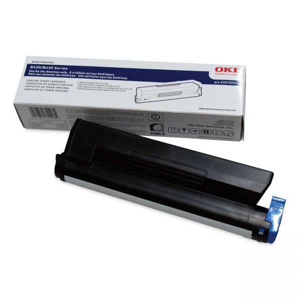 Oki 43979201 Black Toner Cartridge
