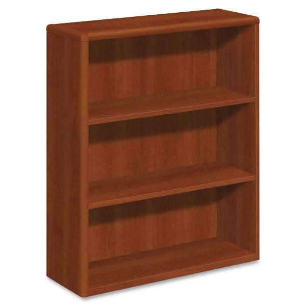 HON 10700 Series 3-Shelf Bookcase