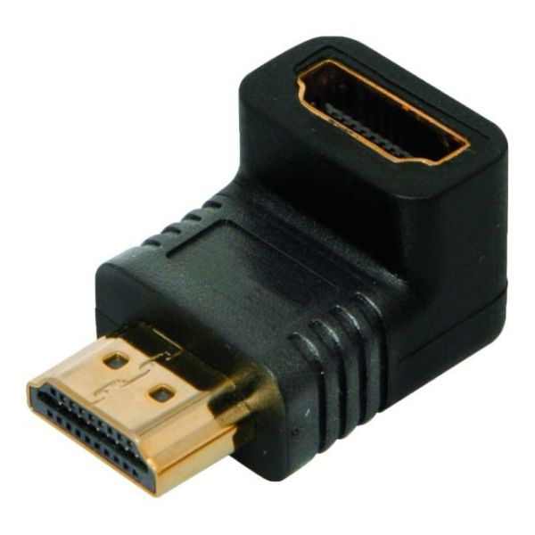 4XEM 90 Degree HDMI A Male To HDMI A Female Adapter
