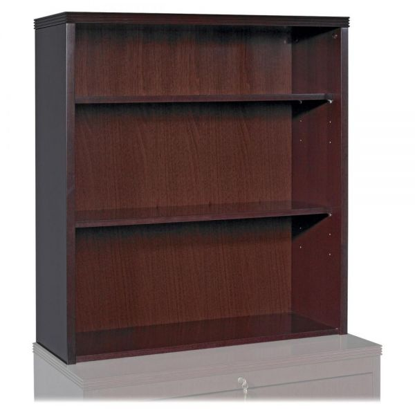 Lorell Stack-On 3-Shelf Wood Veneer Bookcase