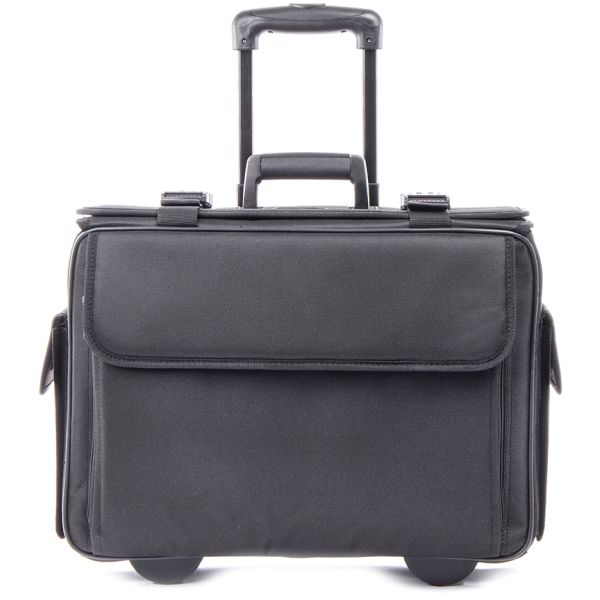 "bugatti Carrying Case (Roller) for 17"" Notebook, Document - Black"