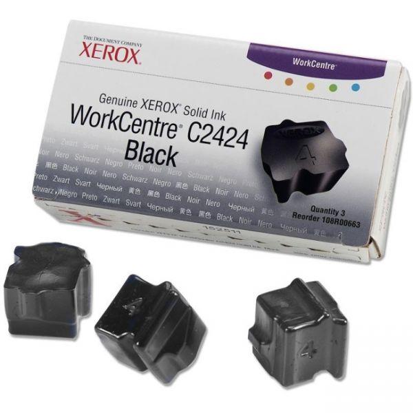 Xerox C2424 Black Solid Ink Sticks