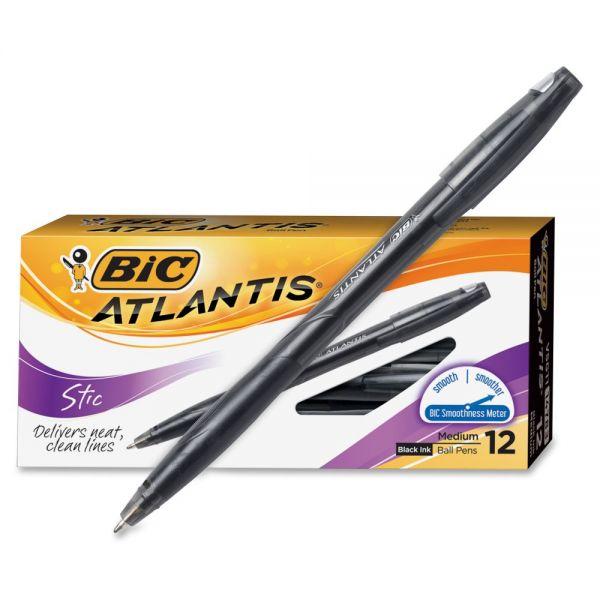 BIC Atlantis Stic Ballpoint Pens