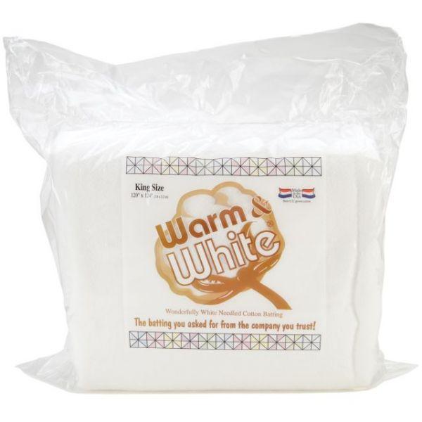 Warm & White Cotton Batting