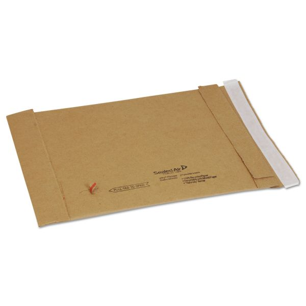 Sealed Air Jiffy Padded Self Seal Mailer, #0, 6 x 10, Natural Kraft, 250/Carton
